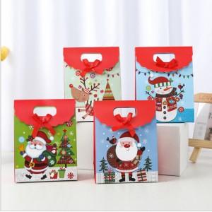 M015  紙製聖誕禮物袋