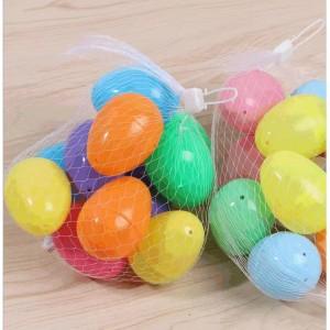 J002 塑料開口彩蛋(12個/包)