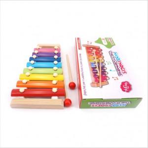 W010 木製益智木琴