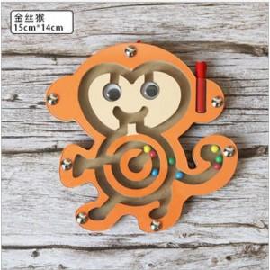 B028A 磁力迷宮玩具走珠(小猴子)