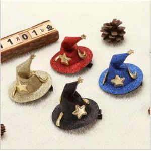 H105 巫師帽頭飾夾子