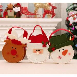 M005  無紡布聖誕禮物袋